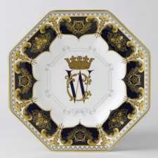 Top-selling octagonal plate