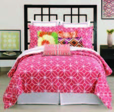 The Trina Turk Trellis bed ensemble. pkhc.com