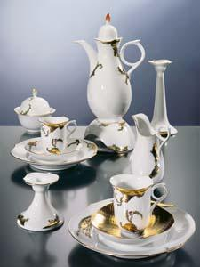 New holiday dinnerware from Meissen