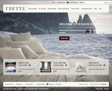Frette's new website