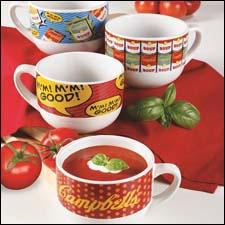 Gibson's Campbell's soup mugs