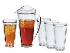 The Insulated Pitcher and Tumbler Set. Creative Bath has become an increasingly larger player in housewares. creativebath.com