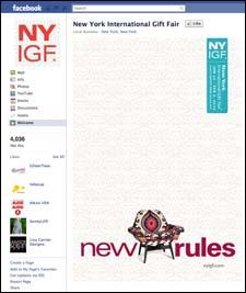 NYIGF's Facebook page