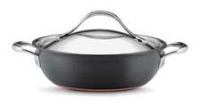 The Anolon Nouvelle three-quart casserole. meyer.com