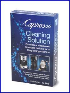 The Capresso Cleaning Solution
