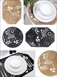 Gourmet Settings placemats