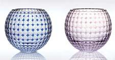 Val Saint Lambert introduced Kaleido crystal giftware. val-saint-lambert.com