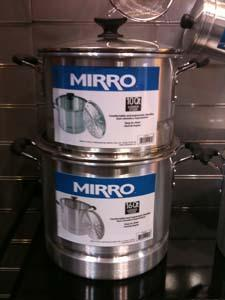 Mirro stockpots from Imusa