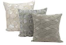 First launched last September, Nourison has added to its Joseph Abboud collection of pillows and rugs. nourison.com
