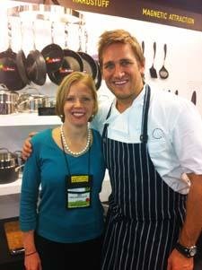 Mary Moore and Curtis Stone