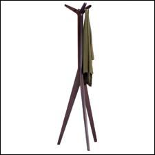 The solid wood Serengeti coat rack is one of the newest items in this category, which keeps expanding for Adesso. adessohome.com