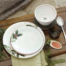 Southern Living holiday dinnerware