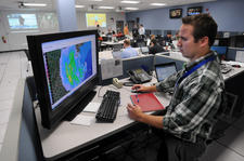 Walmart's Hurricane Sandy crisis center
