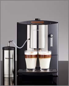 The Miele CM5200 Countertop Coffee System