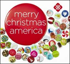 J.C. Penney collectible holiday buttons