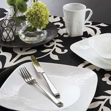 Corelle Cherish dinnerware is part of the new, upscale Boutique line. corelle.com