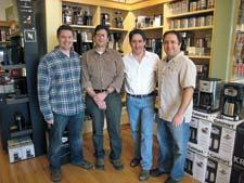 The Krachtmans, from left, Brian, Bob, Rick and Ron, run 13 stores.