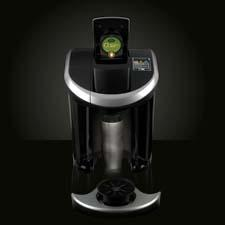 The Keurig Vue brewing system