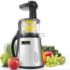 The Bella NutriPro juicer uses a new technology that extracts more juice from fruits and vegetables. sensioinc.com