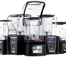Blendtec blenders as seen on the company's redesigned website