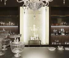 Baccarat store interior