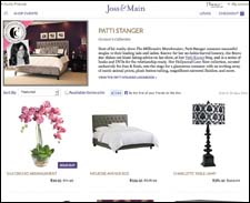 Joss & Main's Hollywood Love Nest page