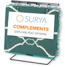 Surya Complements display
