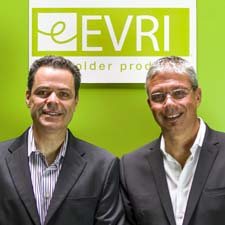 Evriholder's Gary Seehoff, left, and Ivan Stein