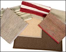 Nourison's new accent rugs of natural fibers