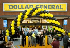 The opening of Dollar General's 11,000th store