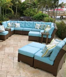 Palm Springs Rattan's Kokomo Sectional