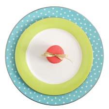 Issac Mizrahiu0027s Dot Luxe dinnerware gibsonusa.com  sc 1 st  Home Furnishings News & Celebrity Designers: More Than a Name | Home Furnishings News