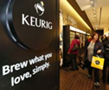 The Keurig store Photo credit: Greg M. Cooper of Keurig