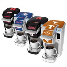 The collegiate collection of Keurig Mini Plus brewers
