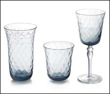 Padma Gilt Blue Drinkware