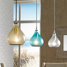 Lamps Plus' exclusive Jamie Young pendants