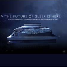 Web page for the ComforPedic iQ
