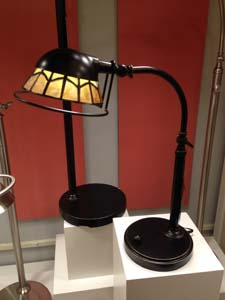 A task lamp from Quoizel's new Vivid line