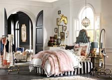 The Parisian headboard is part of the collection.