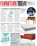 Furniture Today cover for 18 January 2015