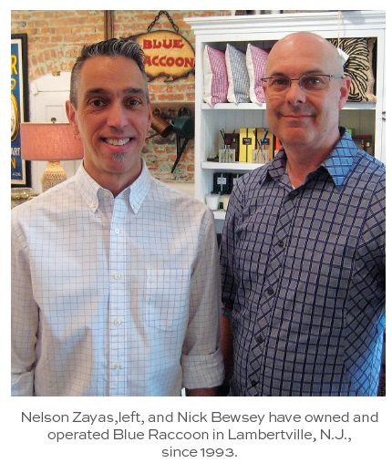 Nelson Zayas and Nick Bewsey, Blue Raccoon