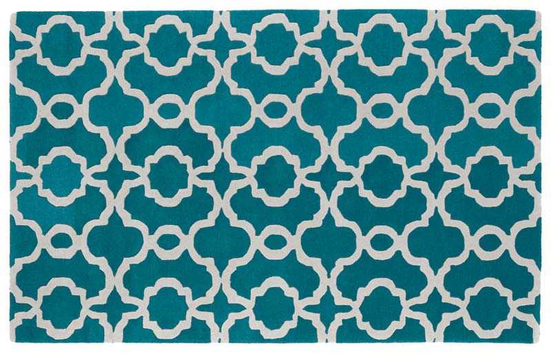 The Revolution collection from Kaleen is handtufted of wool in India and contains trendy patterns with fashion-forward color combinations. kaleen.com