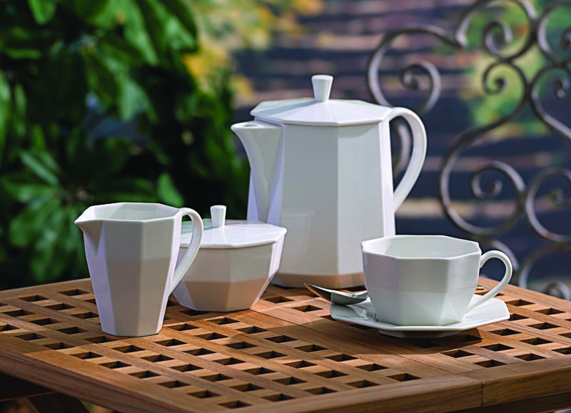 Lenox Entertain 365 is a complete system for home entertaining, with 30 versatile white porcelain shapes in three patterns. lenox.com