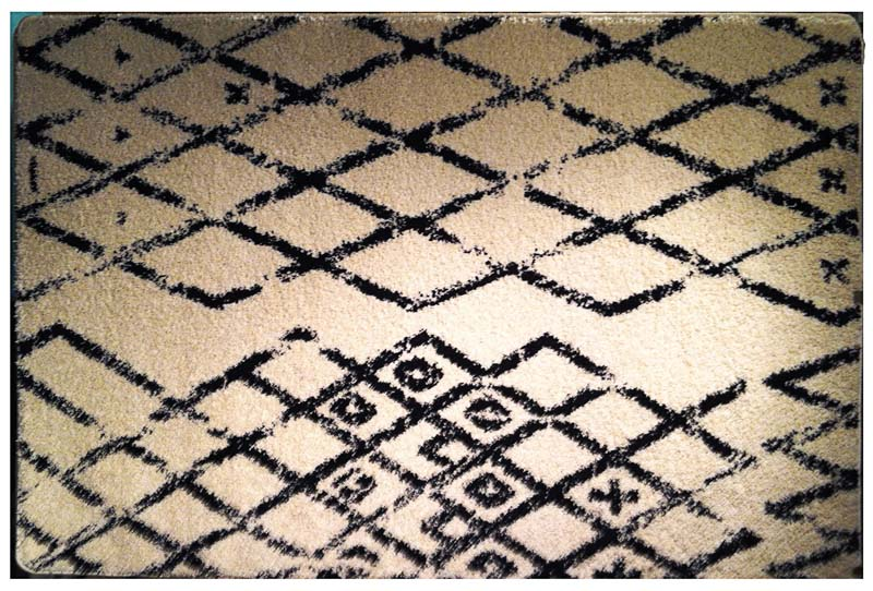 Linon's Moroccan collection features replicas of original vintage Moroccan designs; each design is influenced and named after historic cities of Morocco. Power loomed in Turkey, they are a dense medium shag. linon.com