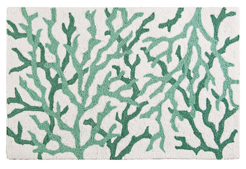 Based on the success of the initial two colorways, C&F added a new one, called Cora Seafoam rug. It is washable and available as a  2-by-3. cnfei.com