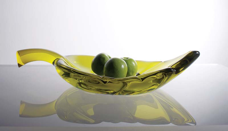 The new Destiny Decorative Bowl combines art and function, doubling as a tray. hstudio.com