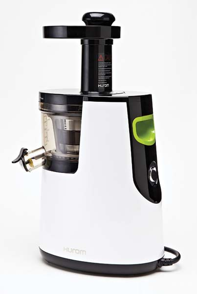 The Premium Slow Juicer/Smoothie Maker juices fruits, vegetables, leafy greens, wheatgrass, nuts and soy with 150 watts of power. originalslowjuicer.com