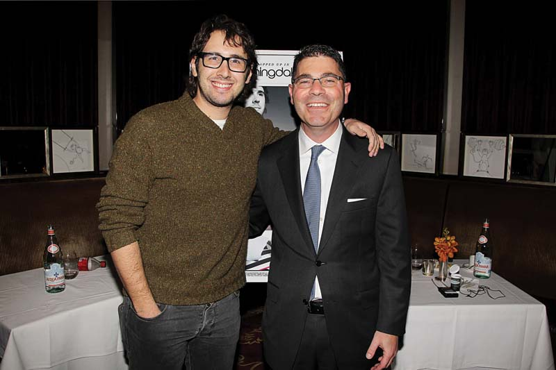 Groban and Tony Spring of Bloomingdale's