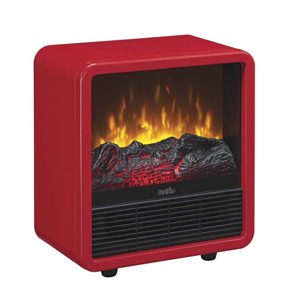 Twin-Star's Duraflame Fire Cubes come in red, black or white and can heat up to 400 square feet. twinstarhome.com