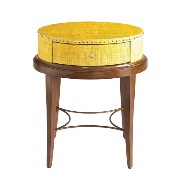 HGTV Home Furniture's new Voyage collection includes this night stand. hgtvhome.com